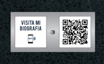 Biografías con Tecnología NFC y QR en decesos