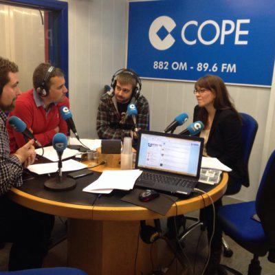 Judith Giner en Radio Cope