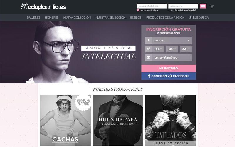 Webs de citas - AdoptaUnTio