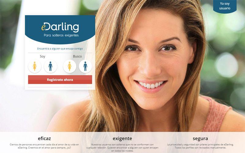 Webs de citas - eDarling