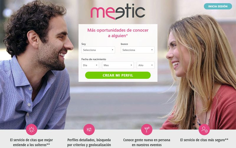 Webs de citas - Meetic