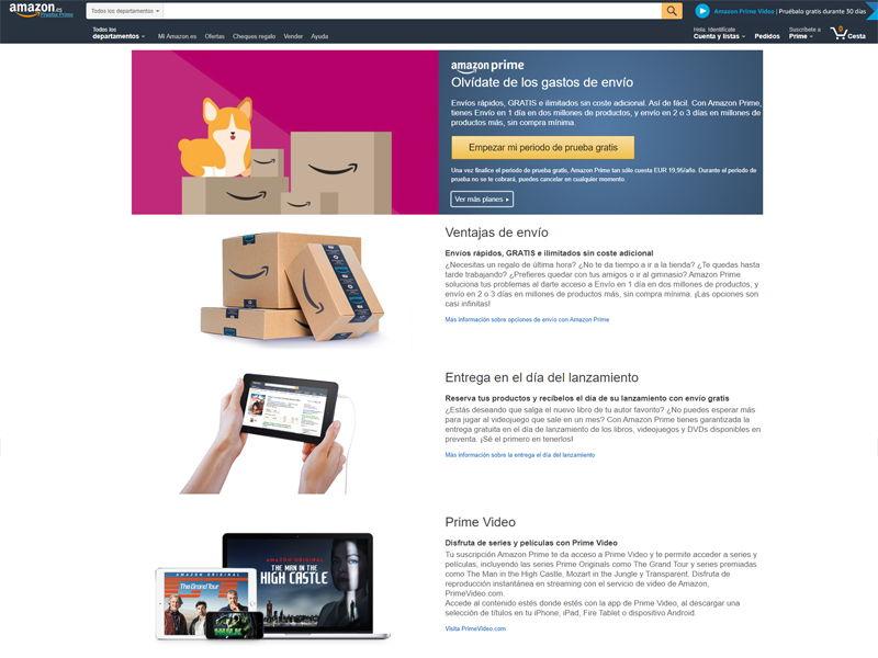 Anular suscripciones Amazon - Mi Legado Digital