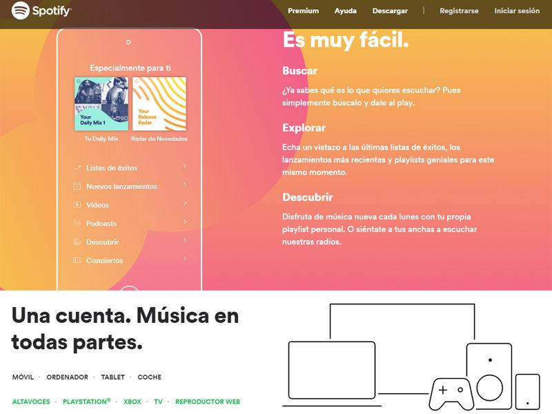 Anular suscripciones Spotify - Mi Legado Digital