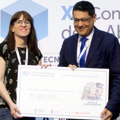 Mi Legado Digital galardonado en el Congreso de la Abogacía