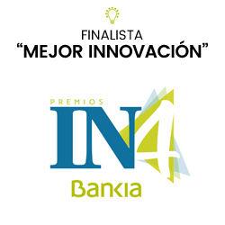 """Finalista """"Mejor Innovación"""" Premios IN4Bankia"""