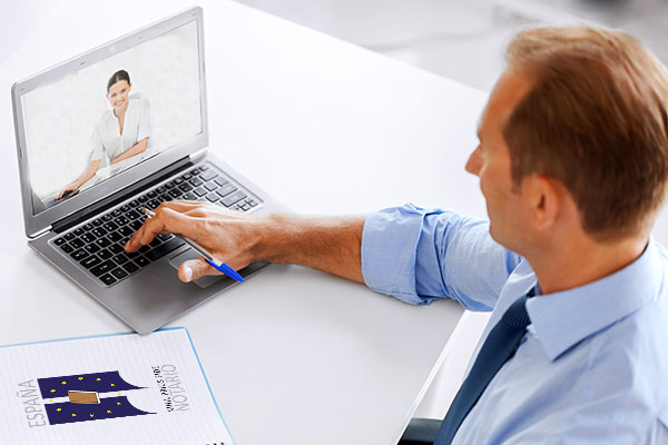 Notarios por videoconferencias